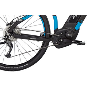 HAIBIKE SDURO Cross 5.0, black/blue/white matte